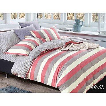КПБ Сатин набивной Люкс дизайн 199 (2 спальный)