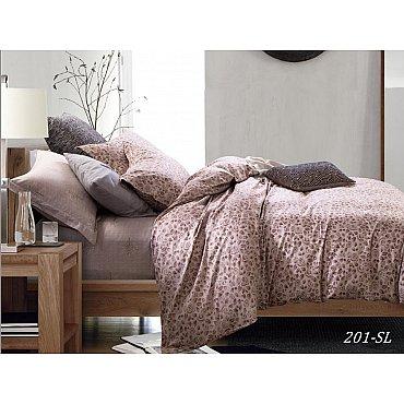 КПБ Сатин набивной Люкс дизайн 201 (2 спальный)