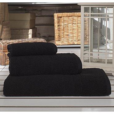 """Полотенце махровое """"KARNA ARES"""", черный, 70*140 см"""