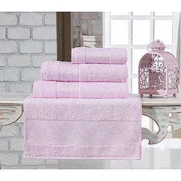 """Полотенце бамбуковое """"KARNA PANDORA"""", светло-розовый, 50*90 см"""