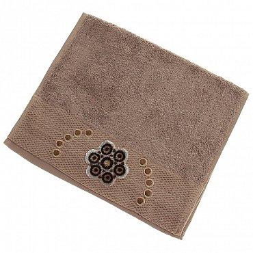 Полотенце Aden, коричневый 30*50