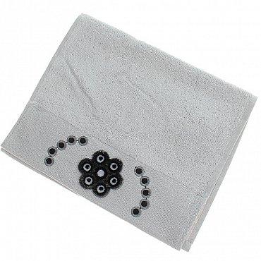 Полотенце Aden, серый 30*50