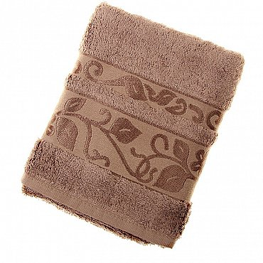 Полотенце Class, коричневый 50*90