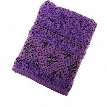 Полотенце Damask, фиолет 50*90