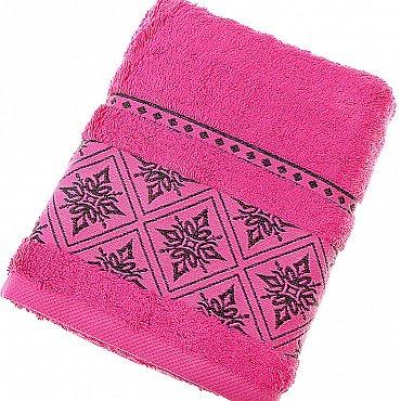 Полотенце Damask, темно-розовый 50*90