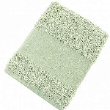 Полотенце Fidan Elegant, зеленый 50*90