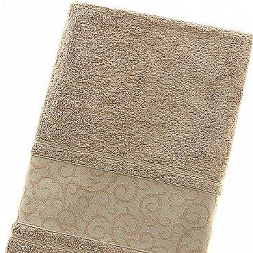Полотенце Fidan Elegant, коричневый 70*140