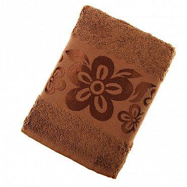 Полотенце Belissimo, коричневый 50*90