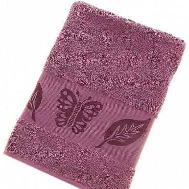 Полотенце Cotton Butterfly, слива 70*140