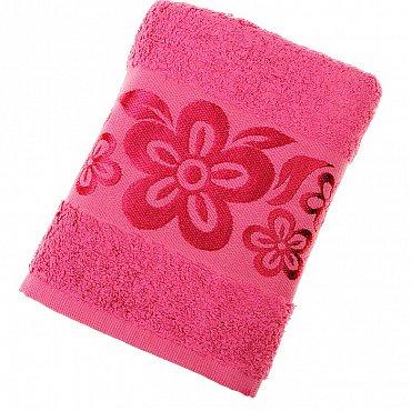 Полотенце Belissimo, розовый 50*90