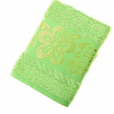 Полотенце Belissimo, зеленый 50*90