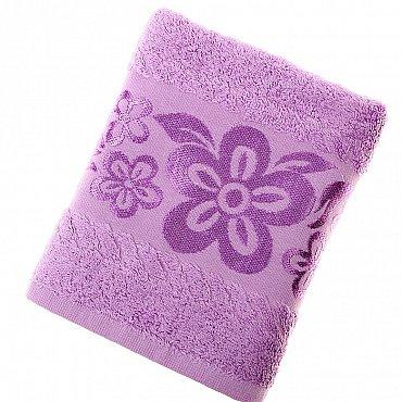 Полотенце Belissimo, фиолет 50*90