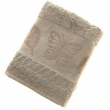 Полотенце Cotton Butterfly, светло-бежевый 50*90