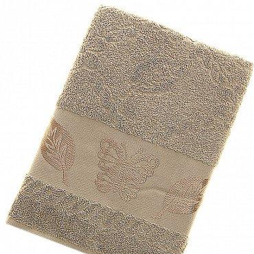 Полотенце Cotton Butterfly, светло-бежевый 70*140