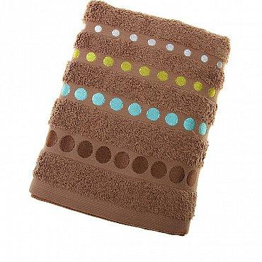 Полотенце Disco, коричневый 50*90