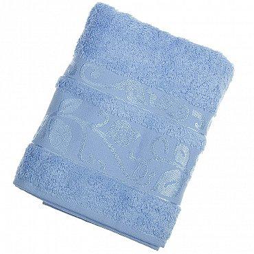 Полотенце Class, голубой 50*90