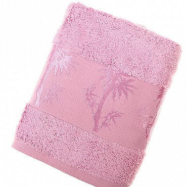Полотенце Bamboo, розовый 50*90