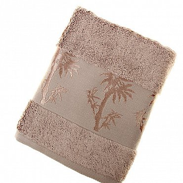 Полотенце Bamboo, коричневый 50*90