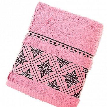 Полотенце Damask, розовый 50*90