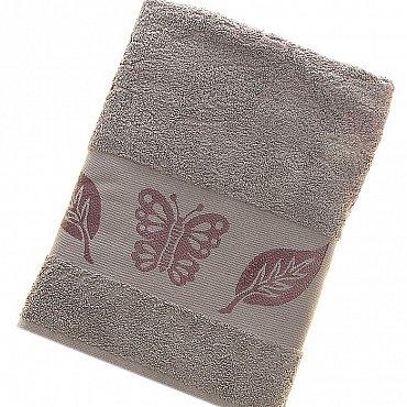 Полотенце Cotton Butterfly, серый 70*140