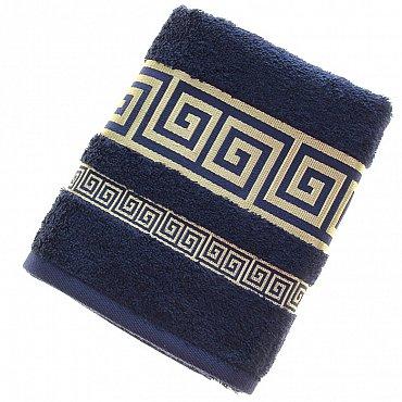 Полотенце Versace, синий 50*90