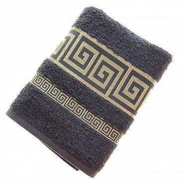 Полотенце Versace, серый 50*90