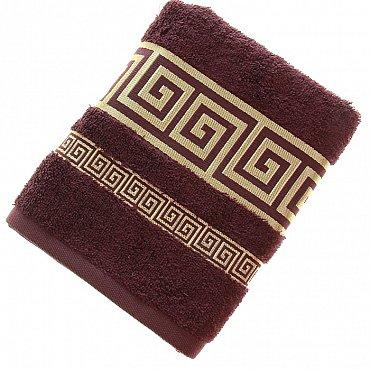 Полотенце Versace, коричневый 50*90
