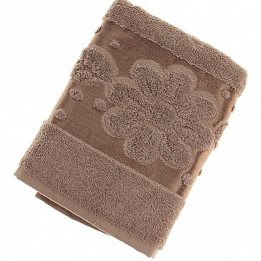 Полотенце Florans, коричневый 50*90