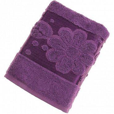 Полотенце Florans, сливовый 50*90