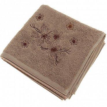 Полотенце Pandora, коричневый 50*90