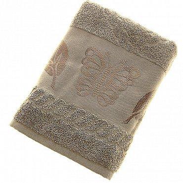 Полотенце Cotton Butterfly, бежевый 50*90