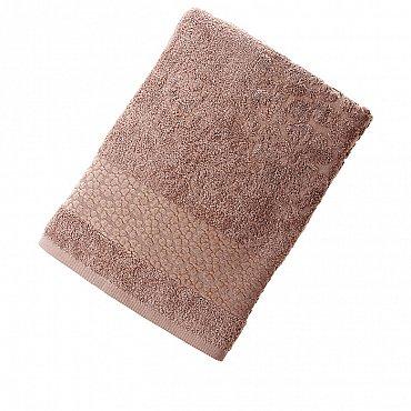 Полотенце Fidan Soffi, коричневый 70*130