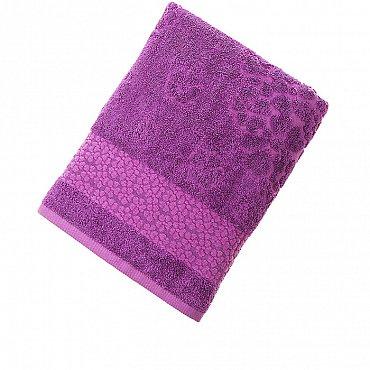 Полотенце Fidan Soffi, фиолет 70*130