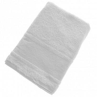Полотенце Fidan Elegant, белый 70*140-A