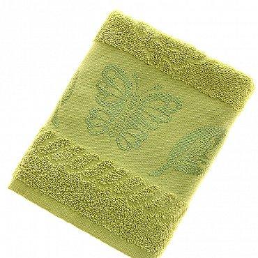 Полотенце Cotton Butterfly, зеленый 50*90