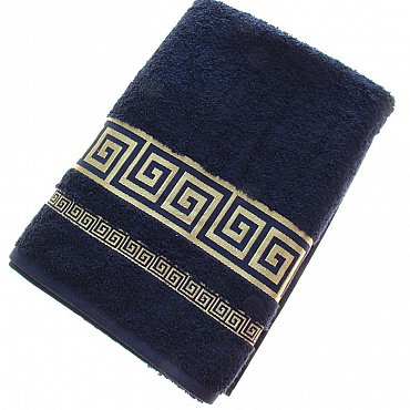 Полотенце Versace, синий 70*140