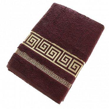 Полотенце Versace, коричневый 70*140