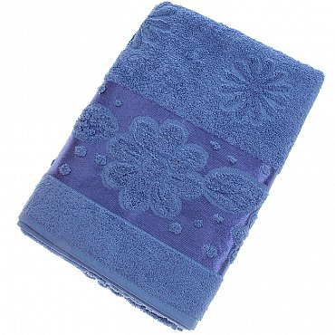 Полотенце Florans, синий 70*140
