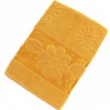 Полотенце Florans, желтый 70*140