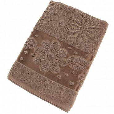 Полотенце Florans, коричневый 70*140
