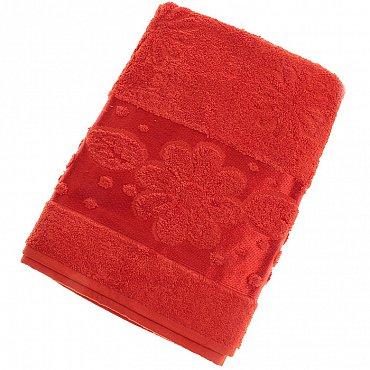 Полотенце Florans, красный 70*140