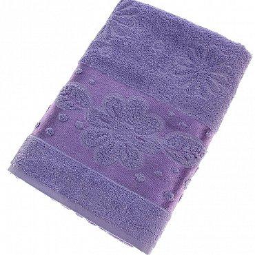 Полотенце Florans, фиолет 70*140