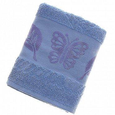 Полотенце Cotton Butterfly, голубой 50*90