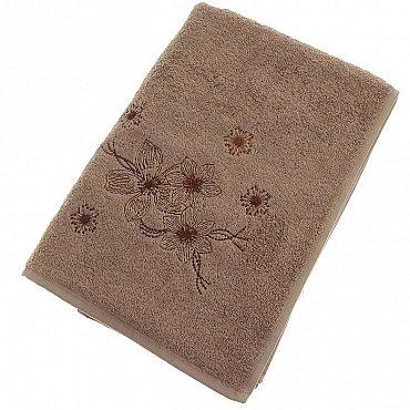 Полотенце Pandora, коричневый 70*140