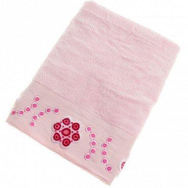 Полотенце Aden, розовый 70*140