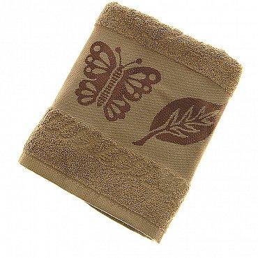 Полотенце Cotton Butterfly, олива 50*90