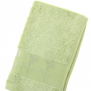 Полотенце Bamboo, зеленый 30*50