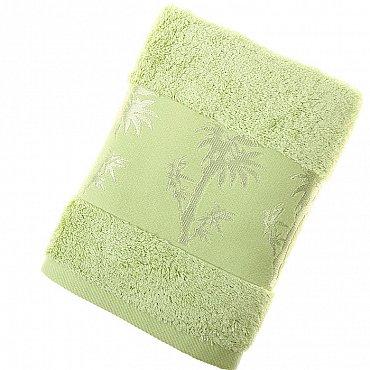 Полотенце Bamboo, зеленый 50*90