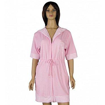 Халат женский Virginia Secret, Розовый, р. S/M (44-46)