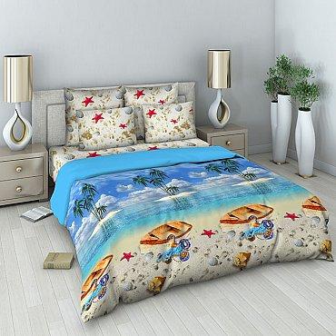 """Комплект постельного белья """"Райский остров"""" 301 (семейное)"""